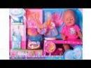 Кукла пупс 05053 Беби Борн миксер,посуда,горшок