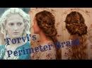 Vikings Inspired Hair: Torvi's Perimeter Braid
