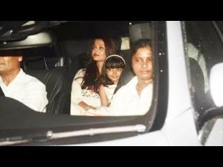 Aishwarya Rai With Daughter Aaradhya ARRIVES At Karan Johar Kids Yash and Roohi Birthday Party 2018