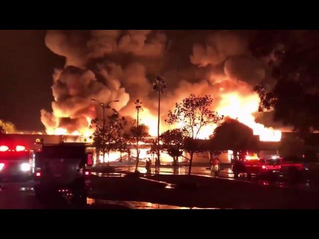 Лесные пожары в Калифорнии в 2017 г. Направленное энергетическое оружие.