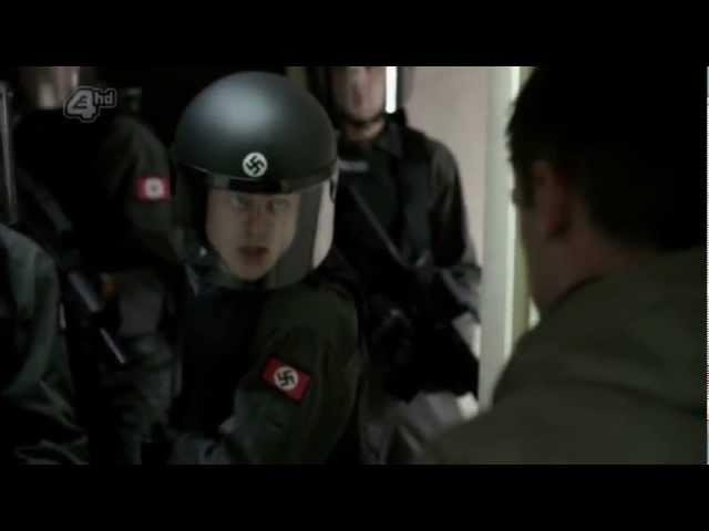 Этот неловкий момент, когда к тебе пришли фашисты.