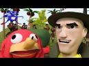 Журналист Патрик о феномене Наклза из Уганды 3D анимация
