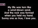 [Lyric] Sunny - Boney M