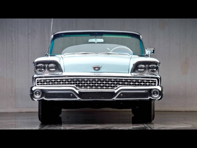 Ford Galaxie Skyliner Retractable Hardtop 51A 1959