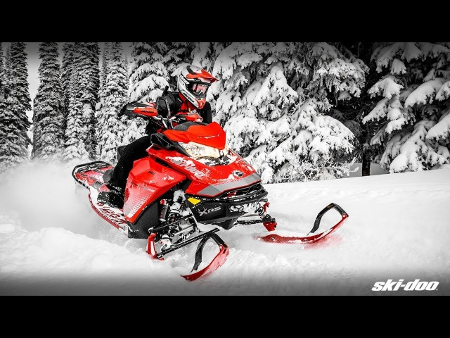 The 2019 Ski-Doo Renegade Backcountry Snowmobiles [MOTOR-FORCE.RU]