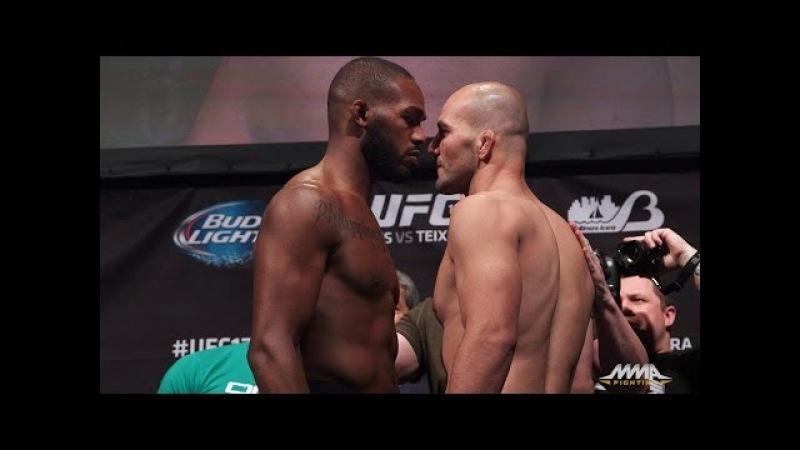 UFC 172 Weigh Ins Jon Jones vs Glover Teixeira