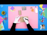How to Make a Kaleidoscope SuperHands Easy Crafts, DIY Craft Ideas for Kids Toys