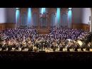 Бетховен. 9 я симфония 4 я часть 300 исполнителей на сцене