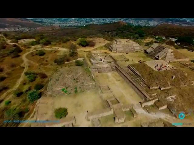 Drone Films México Monte Alban Oaxaca