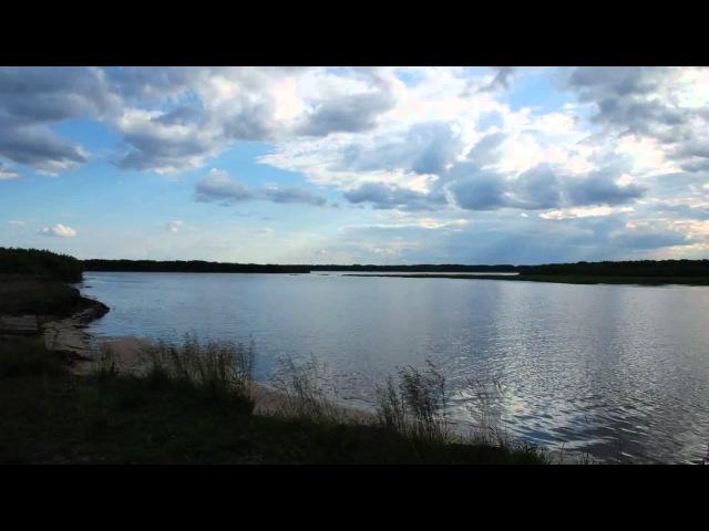 Прилив отлив Мезень timelapse