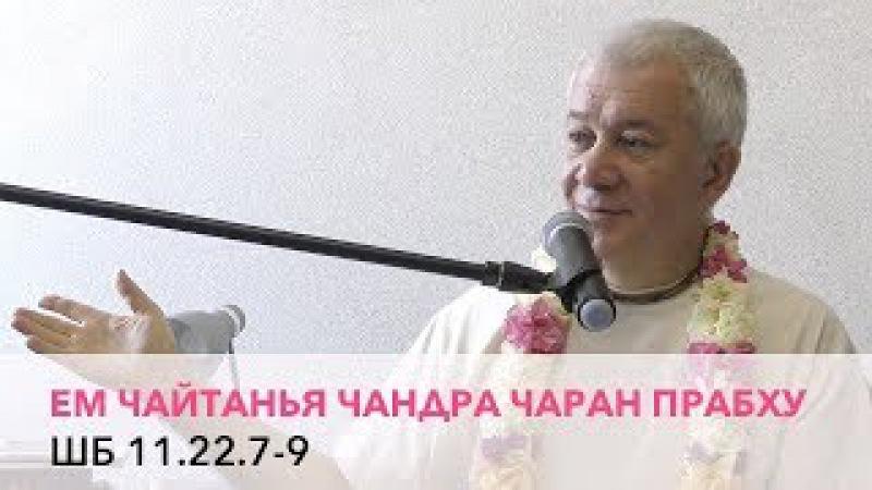 Чайтанья Чандра Чаран Прабху - ШБ 11.22.7-9 (Алматы 2017)