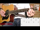 How To Play Sweet Child O´ Mine on Acoustic Guitar / Guns N´ Roses Easy Guitar Lesson with Tabs TCDG