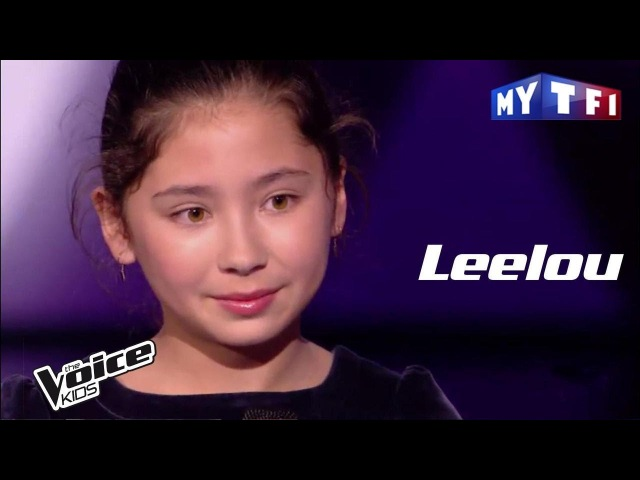 Leelou - Mon ange - (Nolwenn Leroy) | The Voice Kids France 2017 | Demi-finale