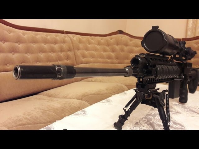 Снайперская Сайга Часть 1. Удлинитель ствола 410кал