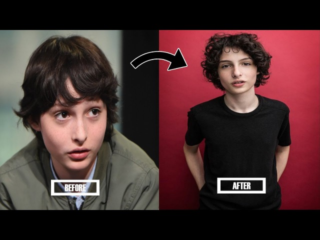 STRANGER THINGS KIDS BEFORE AND AFTER PUBERTY