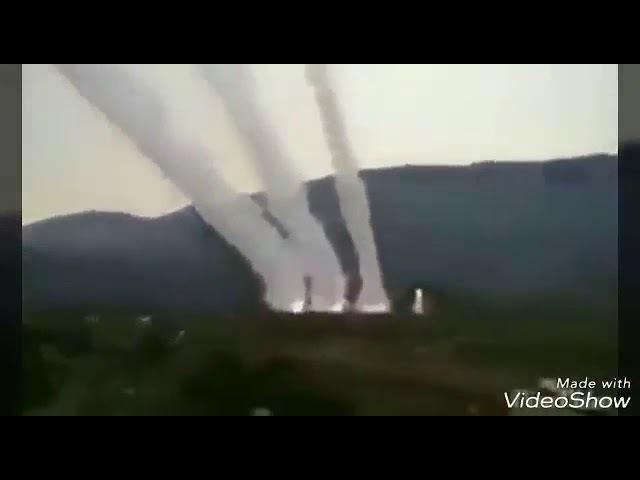 Afrin fuul operasyon görüntüleri
