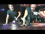 Skillet &amp Jeremy Camp Monster (Uprise Festival 2017) One Arm Pushups!!!!!!