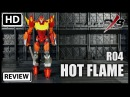 SXS Toys R04 Hot Flame IDW The Transformers MTMTE Hot Rod Rodimus