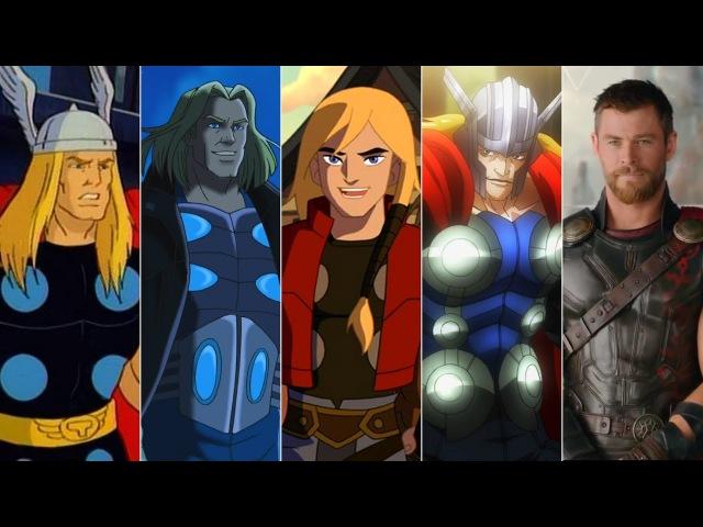 Эволюция Тора в мультфильмах и кино