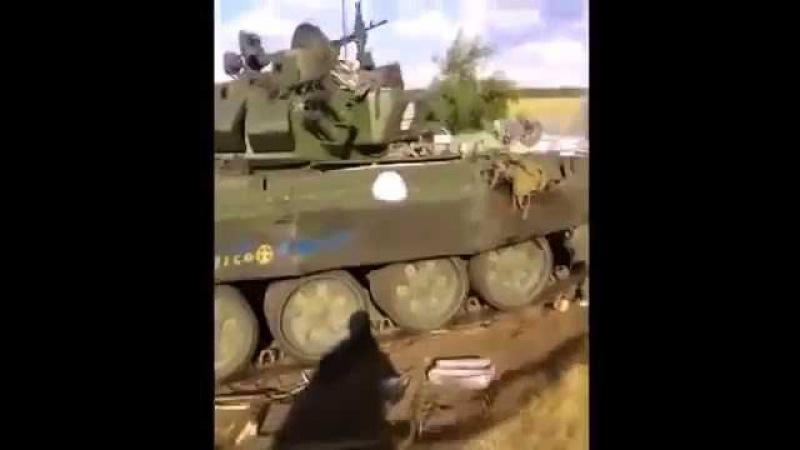 Уничтожение российской танковой группы под Иловайском. (АТО, ВСУ, ЗСУ)