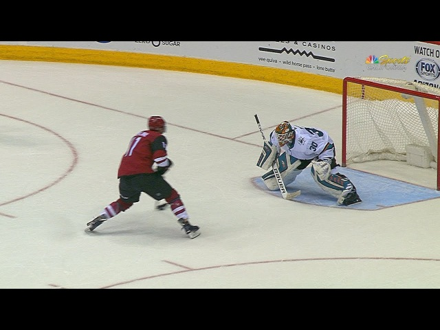 Sharks drop Coyotes in shootout