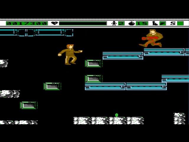 The Terminator Денди - Прохождение (Терминатор Dendy, NES - Walkthrough)