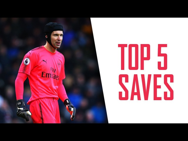 TOP 5 SAVES OF 2017 Cech and Ospina