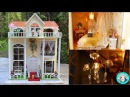 💗 DIY Miniature Sweet Home Dollhouse With LED Lights ミニチュアドールハウス 소형 인형의 집♥