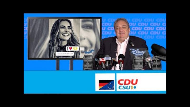 Der Fressesprecher informiert: Sophia Thomalla und die Bundestagswahl!