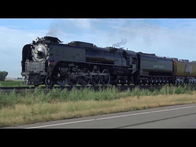 Union Pacific 844 Cheyenne Frontier Days Train 2017
