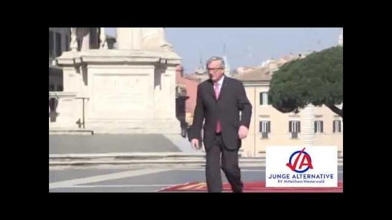 NEU NEU NEU Jean-Claude Juncker völlig besoffen