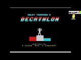 RetroGaming  Music of Daley Thompson's Decathlon on the Zx Spectrum.