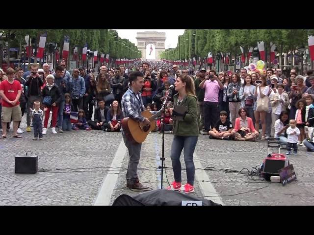 Medley of Youri Menna on the Champs Elysees