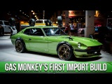 Gas Monkey Garage Builds a Japanese Import In-Depth Look into the 1975 Datsun 280Z with Big Mike