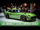 Gas Monkey Garage Builds a Japanese Import In Depth Look into the 1975 Datsun 280Z with Big Mike