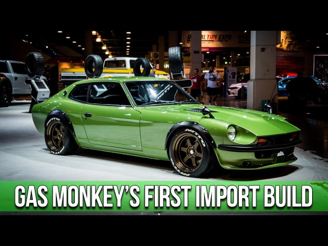 Gas Monkey Garage Builds a Japanese Import: In-Depth Look into the 1975 Datsun 280Z with Big Mike