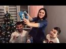 Я беременна Подарок мужу на Новый год за столом Сюрприз мужу Беременность Как я сообщила мужу