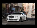Riding 2009 Bentley Mansory Continental GT Speed in Kharkov, Ukraine