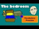 The Bedroom | At Home Vocabulary | English Speaking Practice | ESL | EFL | ELL