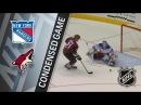 New York Rangers vs Arizona Coyotes – Jan. 06, 2018