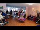 Дом-интернат для пожилых людей. Цыганский танец Венгерка . Школа танцев Экспро ...