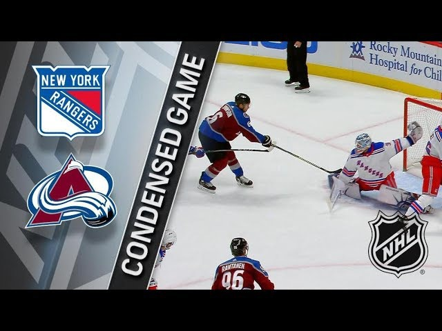 New York Rangers vs Colorado Avalanche January 20, 2018 HIGHLIGHTS HD
