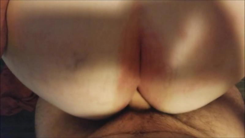 Внук трахает бабушку в зад и кончает внутрь, POV fat granny old woman ass fuck incest butt hot (Инцест со зрелыми мамочками 18+)