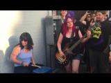 L7 - Shitlist - Live street show Austin TX - 8_13_2016