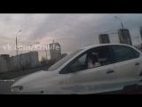 Девушка за рулем, полезла не в свой ряд и устроила ДТП vk.com/kznlife