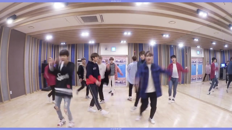 골든차일드(Golden Child) 내 눈을 의심해 (What Happened) Dance Practice