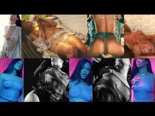 Rihanna голая. Увеличенные HD-кадры с титьками со всех клипов Рианна (Nude Tits, обнажённые соски знаменитости)