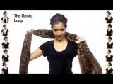 Как правильно носить платок или шарфик. 25 способов!
