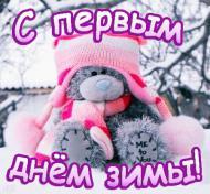 С первым днём зимы!=)