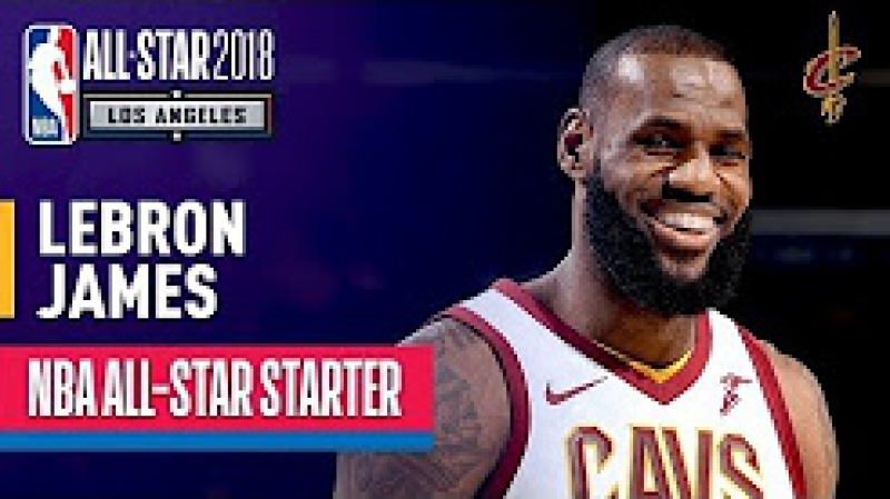 LeBron James 2018 All Star Captain Best Highlights 2017 2018